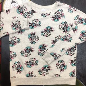 DISNEY Minnie Mouse front x back Print Sweatshirt